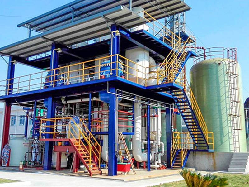 氯化铵三效强制循环蒸发结晶器